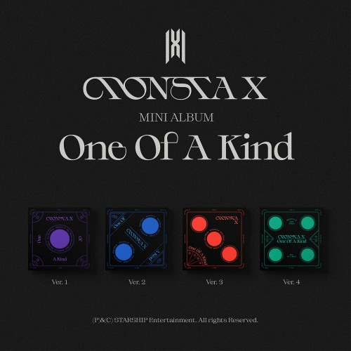 [SET] 몬스타엑스 (MONSTA X) - 미니 ONE OF A KIND